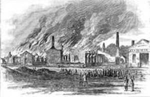burning of Chambersburg