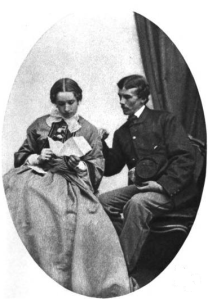 Josephine Shaw Lowell & her husband Charles Russell Lowell